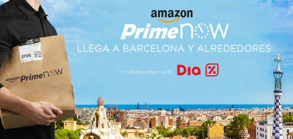 New Food Delivery Service By Dia Amazon Events And Guide Barcelona