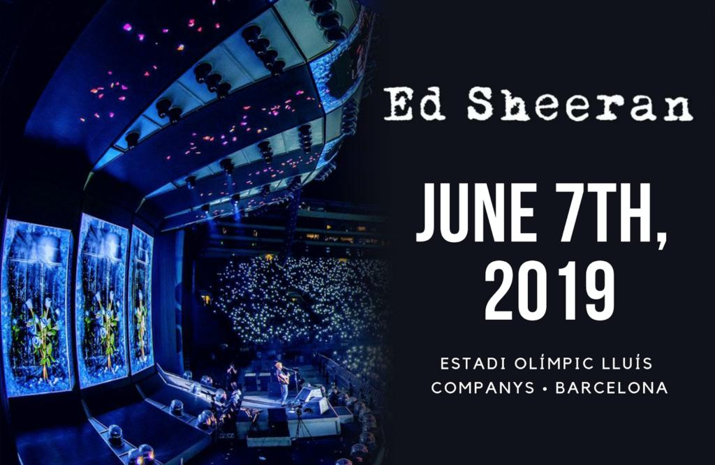 Ed Sheeran Barcelona