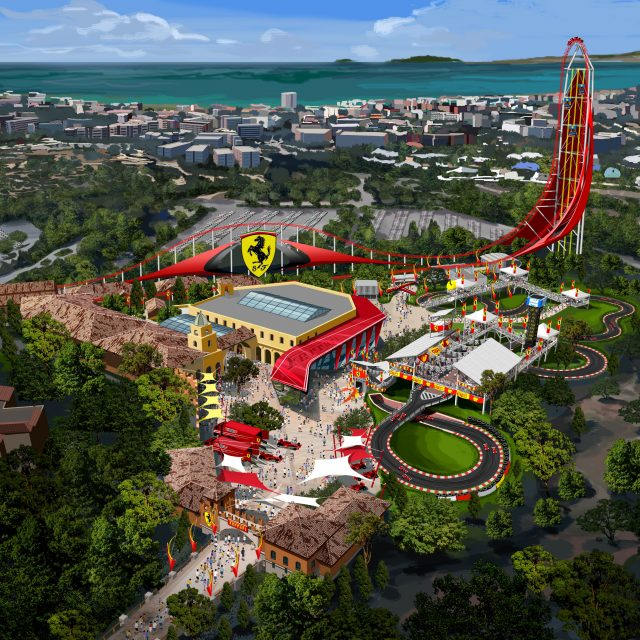 Tickets for Ferrari Land go on sale for 60 Euros- with access to PortAventura included