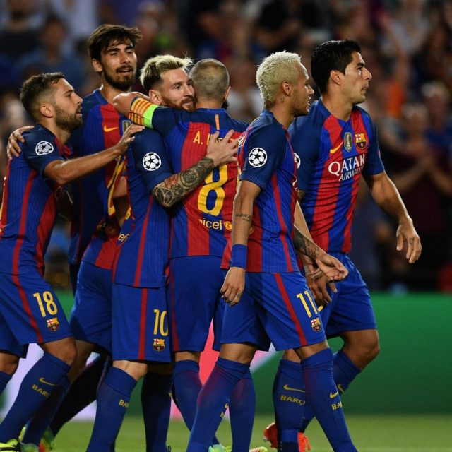 FC Barcelona, another Champions League record