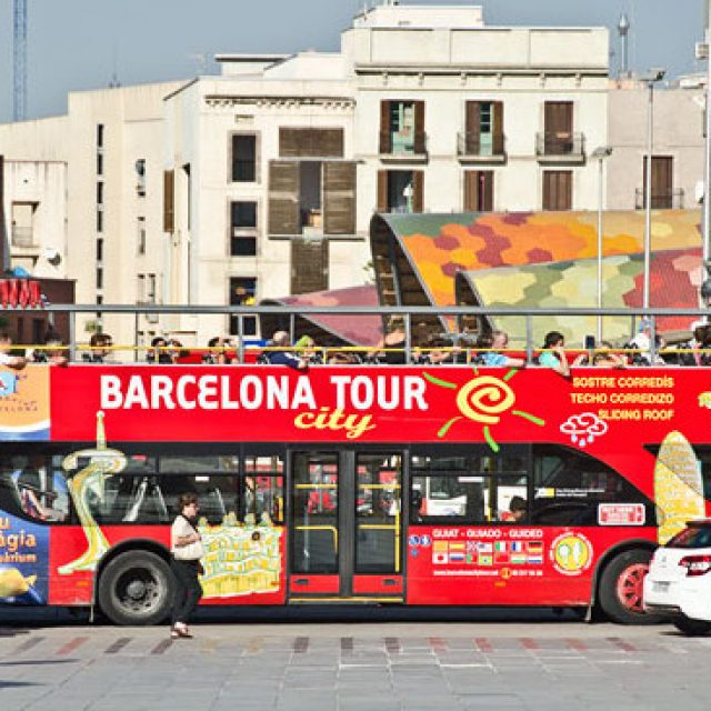 RACC proposes limits on tour bus traffic in Barcelona