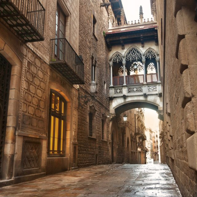 More than half of the buildings in the Gothic Quarter have tourist flats