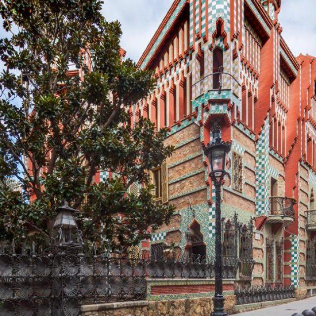 Casa Vicens of Gaudí opens its doors