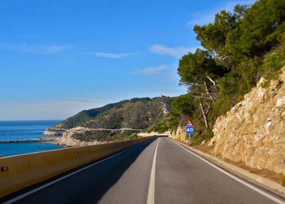 Sitges and the coast supercar tour