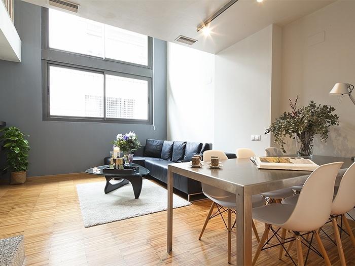 appartamento di lusso moderno in affitto a barcellona