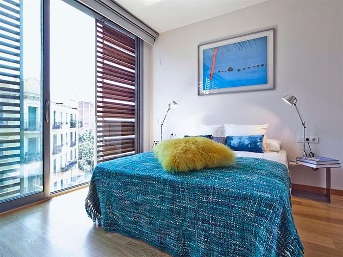 Appartement avec terrasse et piscine barcelone for Appart hotel barcelone avec piscine